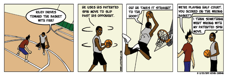 Straight to the Hoop